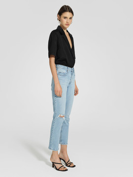 Nobody Denim True Jean Ankle - Calming