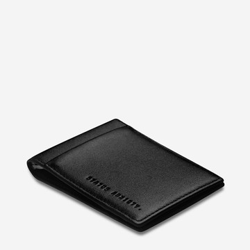 Status Anxiety Melvin Wallet - Black