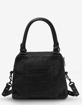 Status Anxiety Last Mountains Bag - Black Bubble