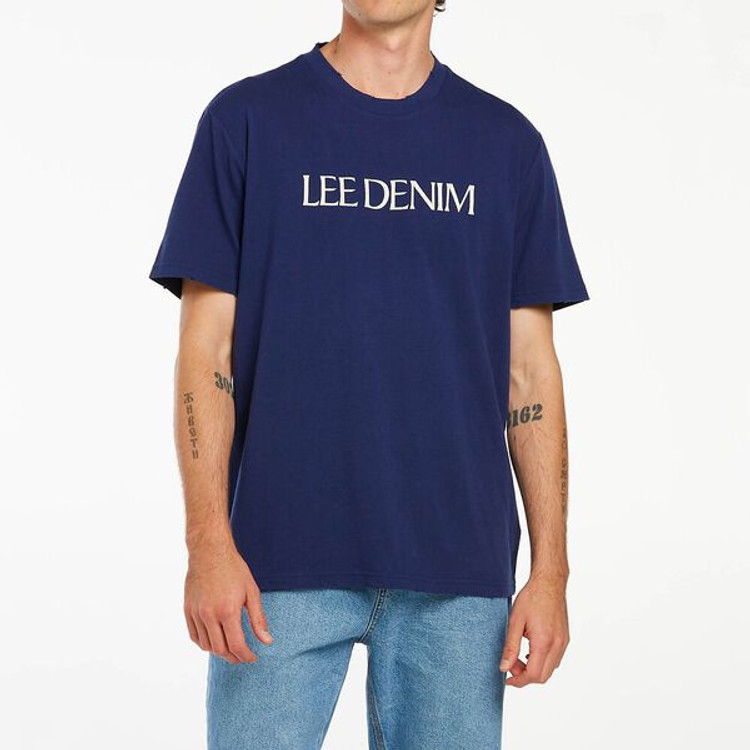 Lee Denim Tee - Worn Navy