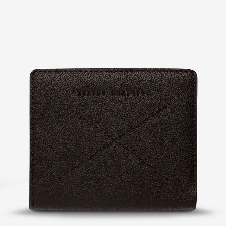 Status Anxiety Clifford Wallet - Chocolate