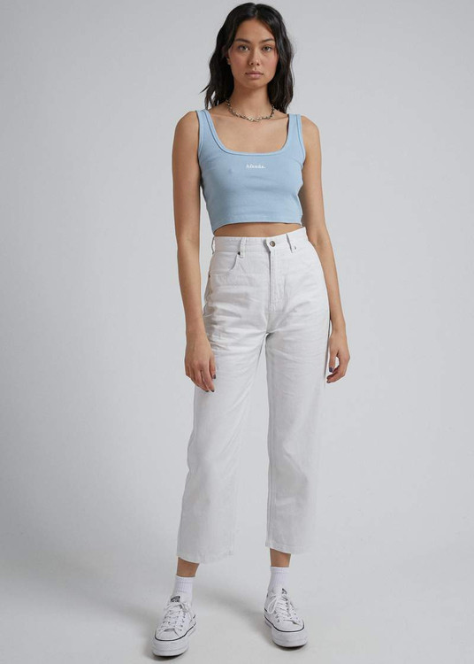 Afends Shelby Hemp Pant - Off White