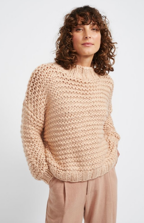 Staple Tempo Jumper - Dusty Pink