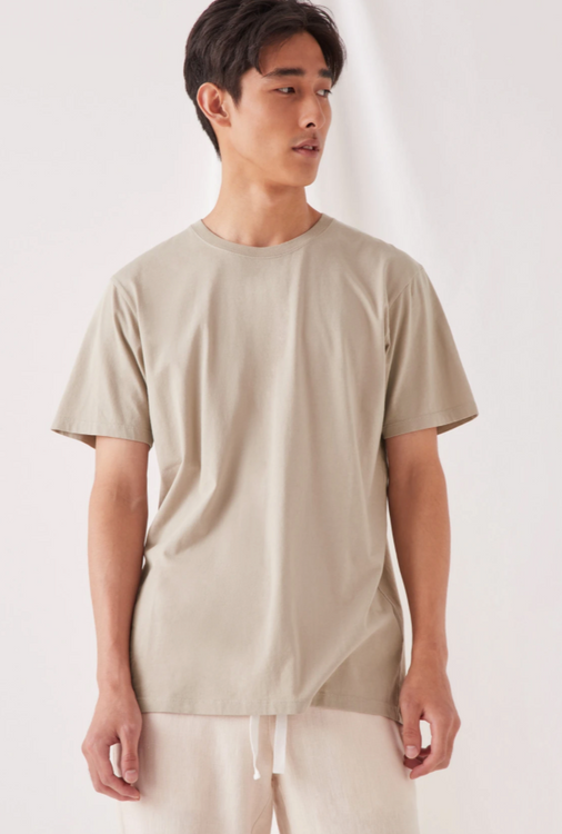 Assembly Label Standard Tee - Washed Khaki