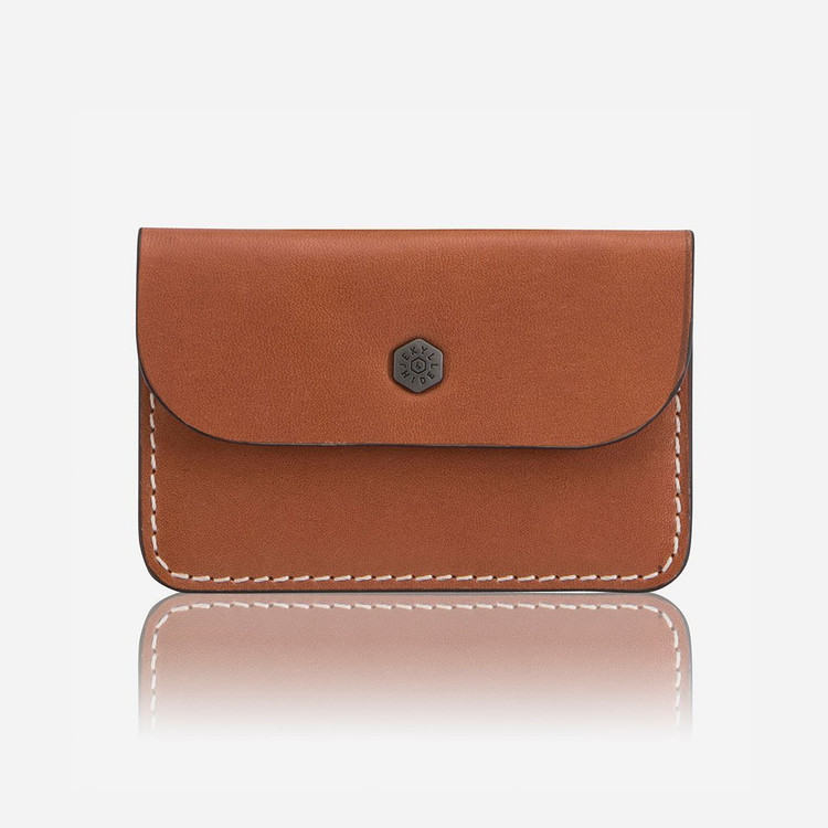 Jekyll & Hide Roma Leather Card Holder - Tan