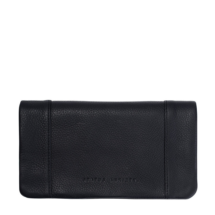 Status Anxiety Some Type Of Love Wallet - Black