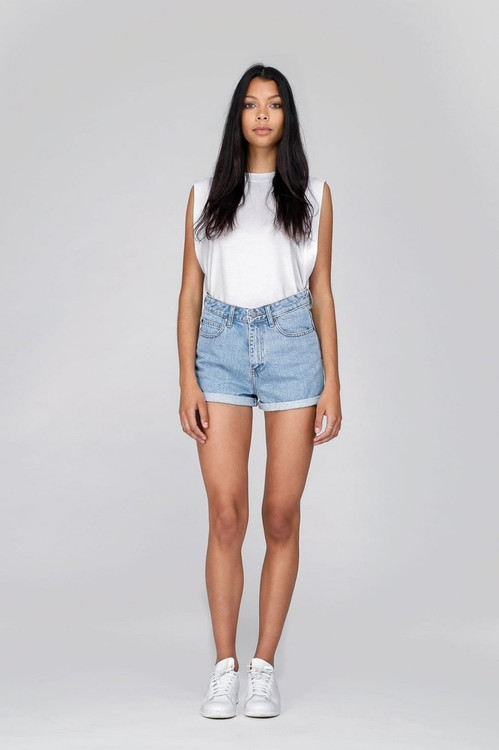 Dr Denim Jenn Shorts - Light Retro