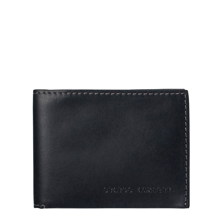 Status Anxiety Felix Wallet - Black
