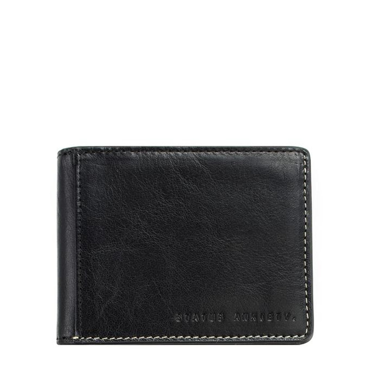 Status Anxiety Ethan Wallet - Black