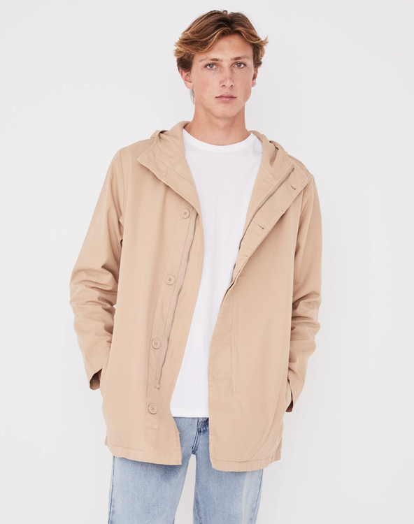 Assembly Label Frontier Canvas Parka- Dover