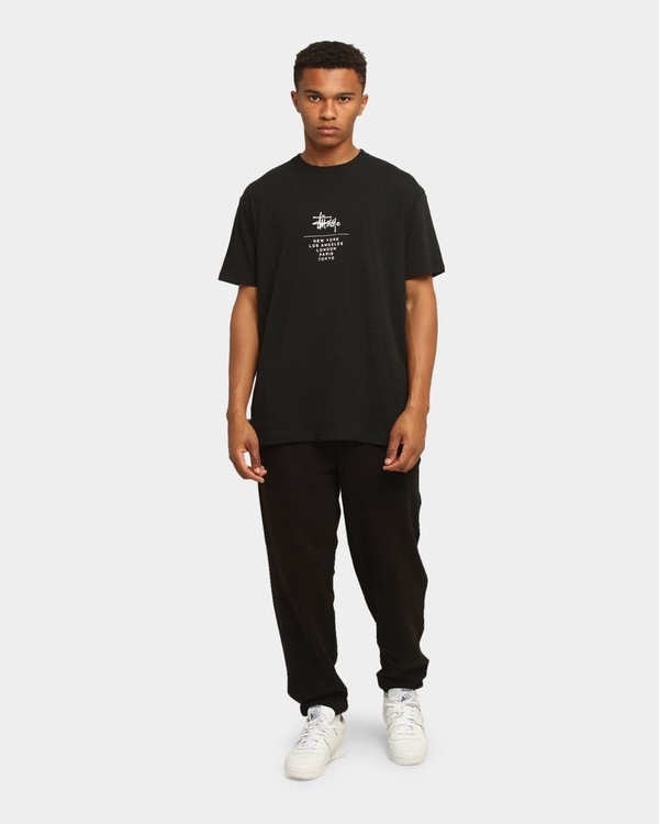 Stussy Graffiti Trackpant - Black