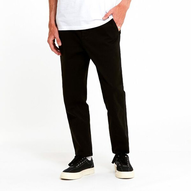Lee Z-Square Drill Pant - Washed Black