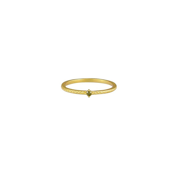 Jolie & Deen Riley Ring - Olive