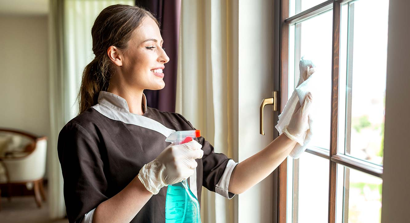 Zogics cleaning, disinfecting, and sanitizing supplies for the hospitality industry
