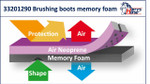 Brushing Boots-Memory Foam by Harry's Horse - 33201290 RRP $64.95                  .