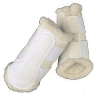 BRUSHING BOOTS - White -