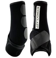 Iconoclast Orthopedic Boots - Black Front - L