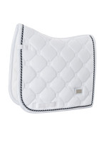 ES - WHITE PERFECTION - DRESSAGE SADDLE PAD - FULL
