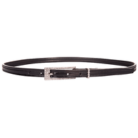 Belt Lena - Patent Black - 1.5cm wide