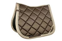 Saddle cloth Bit - Golden Gate - Full Dressage - Chocolate