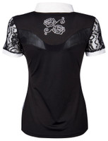 Competition Shirt - Lace - Black
