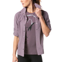 Convertible Sun Shirt - Purple Haze