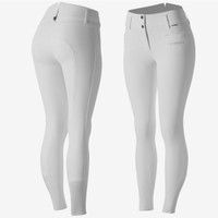 B/Vertigo - Tiffany - High Waist - Competition Breeches - White