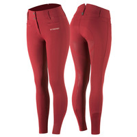 B/Vertigo - Tiffany - High Waist - Breeches - Ruby Red