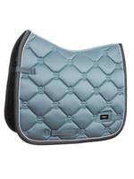 ES - STEEL BLUE- DRESSAGE SADDLE PAD - COB