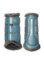 ES - STEEL BLUE  - BRUSHING BOOTS - Set of 4 - Size Large