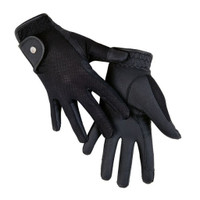 Gloves Summer Style - Mesh - Black