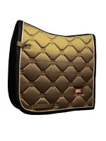 ES - GOLDEN BRASS - DRESSAGE SADDLE PAD - FULL