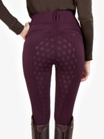 PSOS -  Riding Tights - Mathilde - Wine