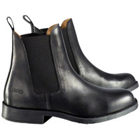 HORZE - Classic Leather Jodhpur Boots - Black