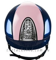 KEP - Helmet - Metal Diamond Blue
