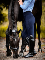 PSOS -  Riding Tights - Mathilde - Navy -Deep Sapphire