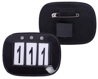QHP - Number holder - Black