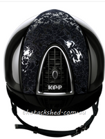IN STOCK: KEP - Helmet - Polish Black - Latex -