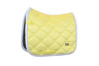 ES - SOFT LEMON - Dressage Saddle Pad  - COB