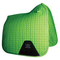 WOOF WEAR - Dressage Saddle Pad - Lime