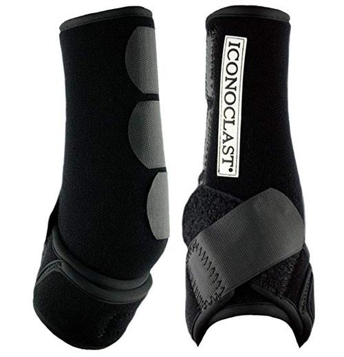 Iconoclast Orthopedic Boots - Black Hind - L