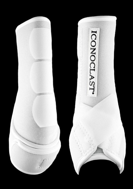 Iconoclast Orthopedic Boots - White Front - Small