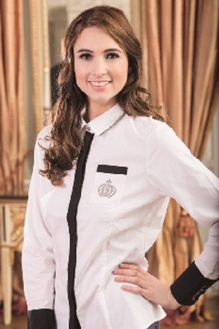 Competition Blouse-SILVER CROWN- RRP $109.95