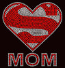Super MOM Rhinestone Transfer
