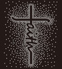 (NEW)Faith spray Rhinestone transfer
