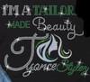 I'm a Tailor made Beauty - custom Rhinestone transfer