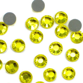 CITRINE Yellow 4mm 16ss 2cut Premium quality Loose Hotfix Rhinestone