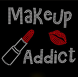 Makeup Addict Makeup Rhinestone Transfer Iron on