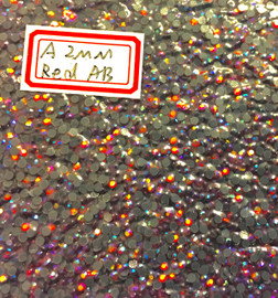 Red AB 2mm 6ss Premium quality Loose Hotfix Rhinestone