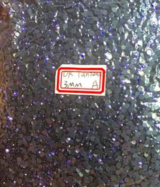 Tanzanite Dark 3mm 10ss Premium Quality Loose Hotfix Rhinestone